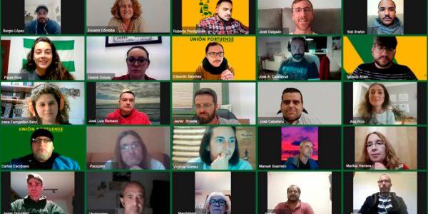 La asamblea de Unión Portuense reconfigura su Junta Directiva