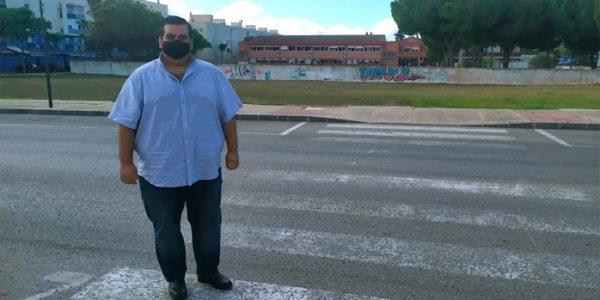 """Caballero: """"Curro Martínez debe priorizar la seguridad vial en el entorno escolar"""""""